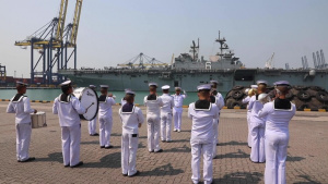 Royal Thai Navy welcomes USS America (LHA 6)