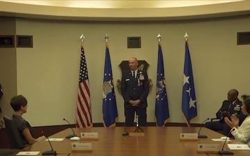 PACAF Deputy Commander Retirement