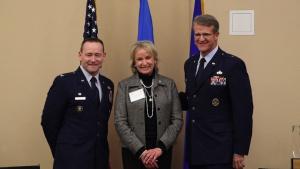 Tinker graduates 2019 Honorary Commanders Class
