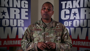 Chief Master Sgt. Anthony Johnson Air Force Assistance Fund message