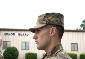 Hurlburt Honor Guard: To Honor With Dignity