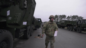 DEFENDER-Europe 20: 504th CSC Soldier Conducts APS Draw