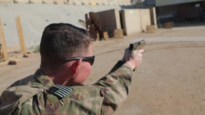 1st Stryker Brigade Combat Team conducts weapons training
