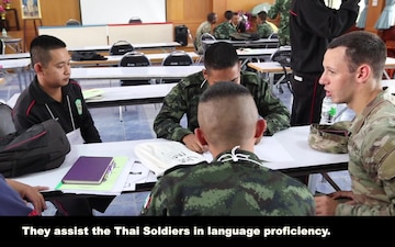 English class in Thailand