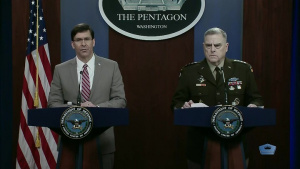 Esper, Milley Hold News Conference