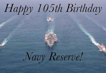 """CLDJ's """"Why I Serve""""...Happy 105th Birthday Navy Reserve"""