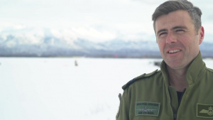 Royal Canadian Air Force Capt Jean-Paul Degagne talks Arctic Edge 2020