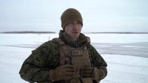 Arctic Edge HIMARS M142 load and launch Interview
