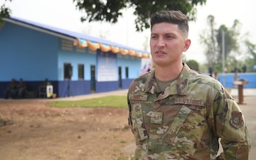 Cobra Gold 20: Air Force structural craftsman shares thoughts during building dedication *Interview*