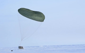 CH-47 search and rescue extractions for exercise Arctic Eagle 2020