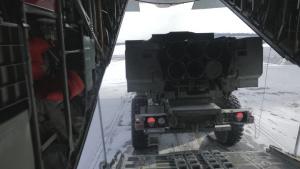 Arctic Edge HIMARS launch: B-Roll