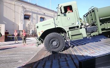 Walk The Plank   U.S. Marines better their Maritime Prepositioning Force skills