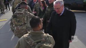 U.S. Soldiers arrive in Bavaria for Defender Europe 20