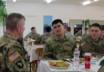 1-8CAV, 2ABCT 'Mustangs' visit with DVs in Hungary
