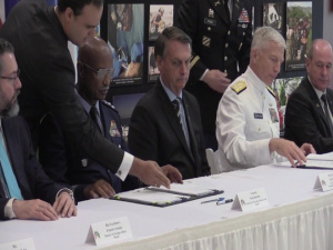 U.S. and Brazil Sign Bilateral Defense Cooperation Agreement
