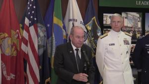 Press Briefing: Adm. Craig Faller, Brazilian Minister of Defense FernandoAzevedo