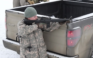 Alaska State Defense Force practices security patrols for Arctic Eagle 2020
