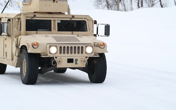 CLB-451 conducts winter driving course