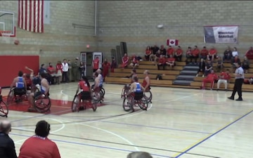 Marine Corps Trials Wheelchair Basketball Finals, Part 1