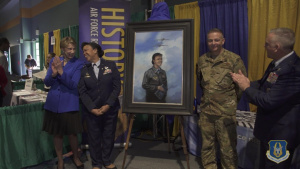 Lt Gen Stayce D. Harris featured in portrait created by the