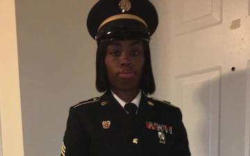 Sgt. Eva Hayes Soldier Spotlight