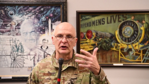 AFMC Commander Updates Workforce on COVID-19