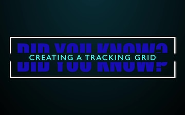 ICEX 2020 - Building a Tracking Grid