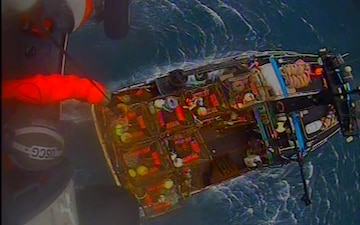 Coast Guard medevacs fisherman injured 170 miles southwest of Kodiak