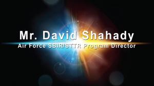 AFWERX Virtual Spark Collider – David Shahady - Part 1 of 3