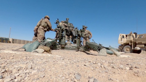M777 Howitzer Artillery Live-Fire Exercise with the 1-25 Infantry Division