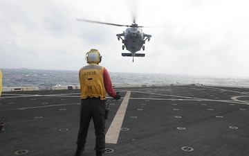 USS Green Bay flight operations, March 16, 2020