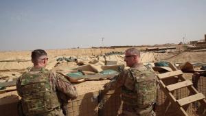 Brig. Gen. Barker visits Al Qa'im Base