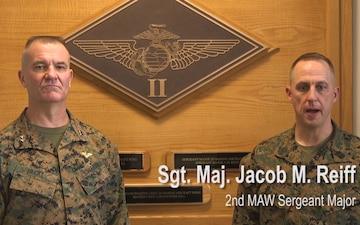 2nd MAW commemorates Iwo Jima anniversary