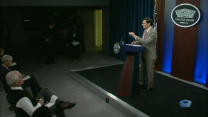 Top DOD Official Holds News Conference