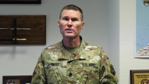 Video: 7th MSC Command Sgt. Maj. discusses COVID-19