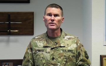 Video: 7th MSC Command Sgt. Maj. discusses COVID-19