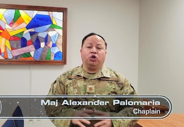 Chaplain Palomaria PSA for Los Angeles Air Force Base