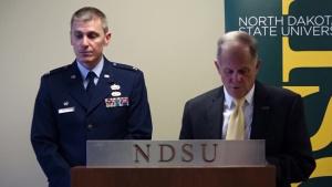 119th Wing and North Dakota State University Sign Memorandum of Understanding