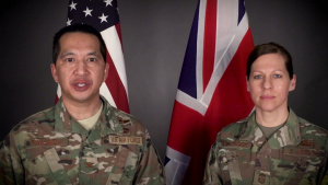 100ARW Command Team Live Facebook COVID-19 Town Hall Announcement