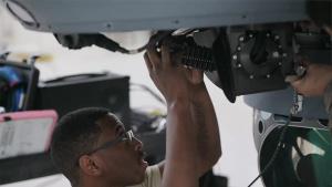 MQ-9 Maintenance Airman at Singapore Airshow 2020