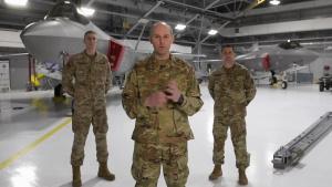 158FW Command Team addresses COVID-19