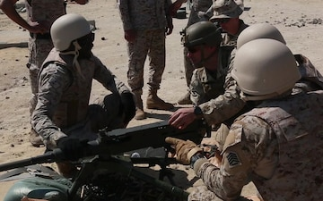 26th MEU Marines conduct bilateral training in Ras Al-Khair, Saudi Arabia