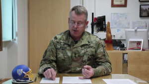Maj. Gen. Christopher Mohan gives a COVID-19 Update