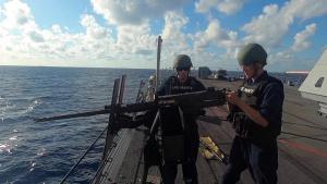Gunnery Exercises USS Detroit