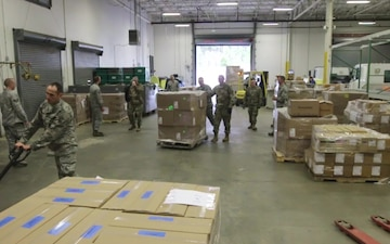 NCNG and Air National Guard Response to COVID-19 B-roll
