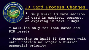 ID Card Process Changes