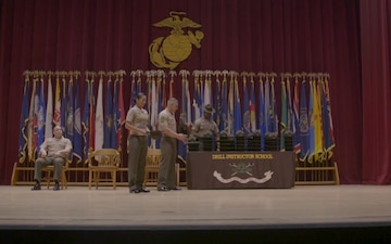 Drill Instructor School Graduation