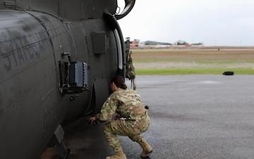 1st Lt. Megan Skalla, Youngest Female UH-60 Black Hawk Pilot in 34th ECAB