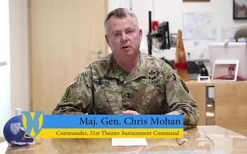 Maj. Gen. Mohan Update General Order Number 1 (GO-1)
