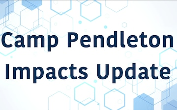 Camp Pendleton Impacts Update: March 26, 2020